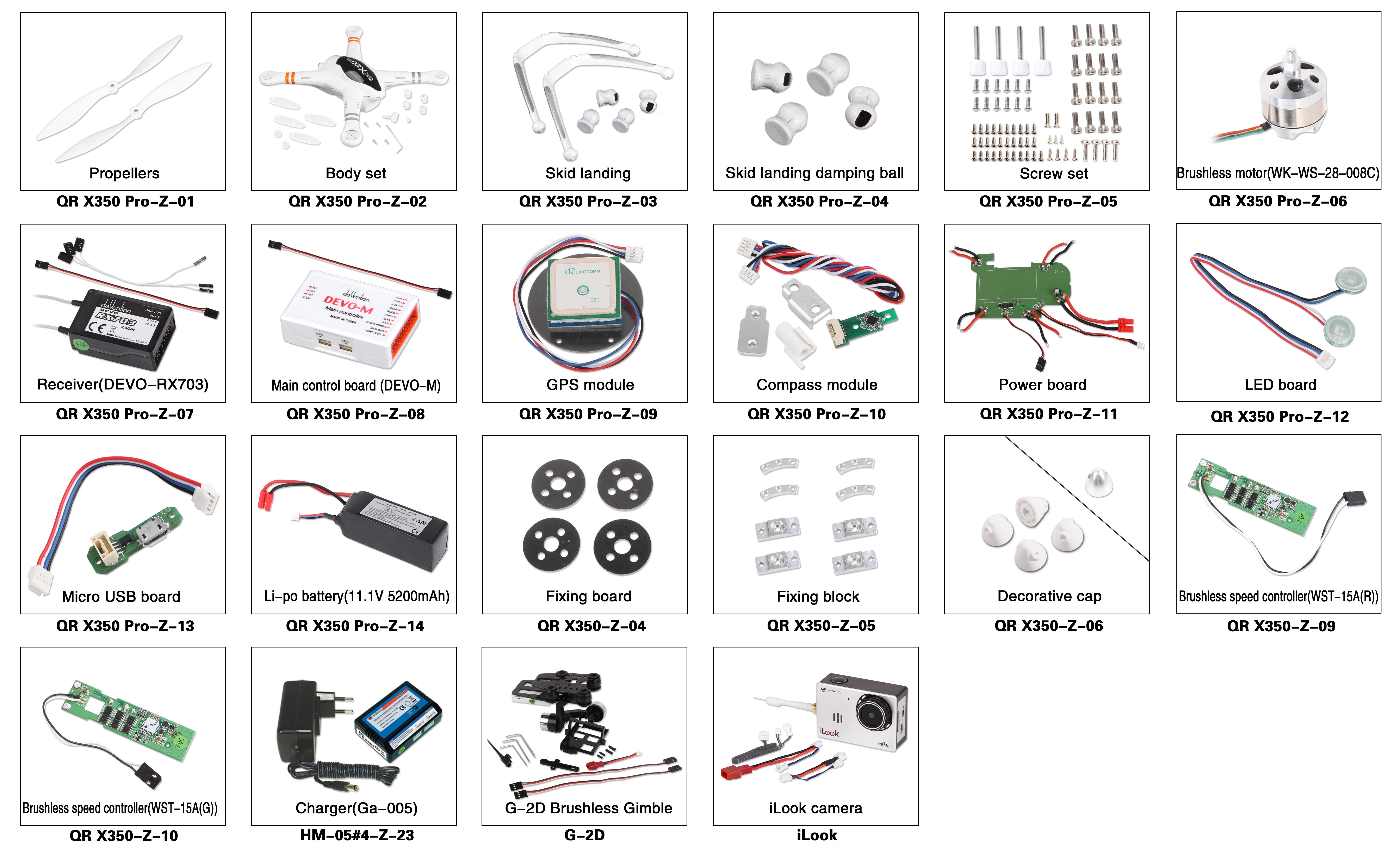 x350 pro mit devo m flugsteuerung spezifikationen. Black Bedroom Furniture Sets. Home Design Ideas