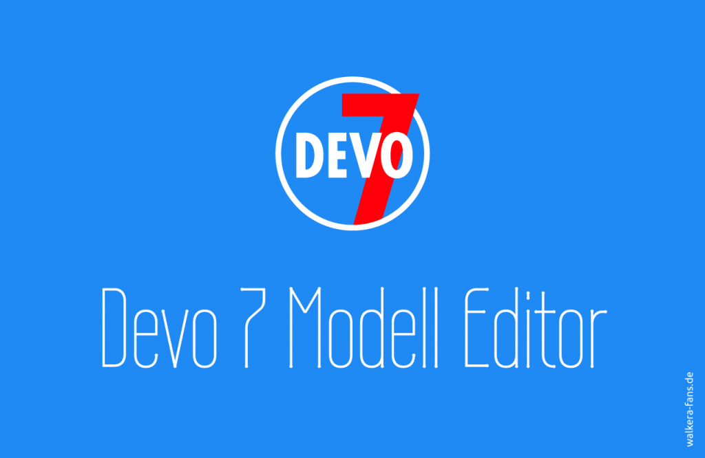 Devo7 Modell Editor Splash