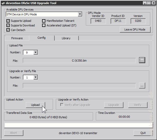 devention DfuSe USB Upgrade Tool-upload-model