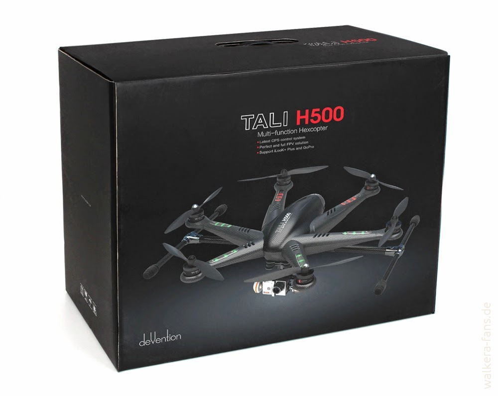 Tali H500 packing