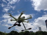 Erste Fotos von Tali H500 in der Luft