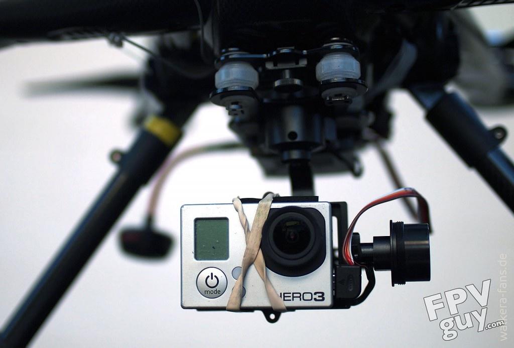 Tali H500 mit G-3D Gimbal und GoPro Hero 3