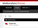 Walkerafans Forum ist eröffnet