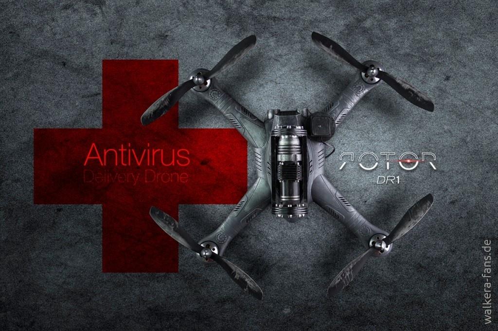Antivirus-Drone