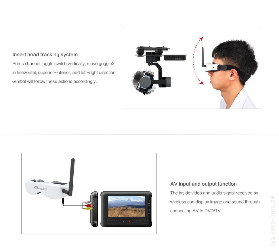 Devention Goggle 2 Spezifikationen Walkera Fans Drone Voyager 3 Gps Devo F12e G 3d Gimbal Ilook With Camera Putih 04