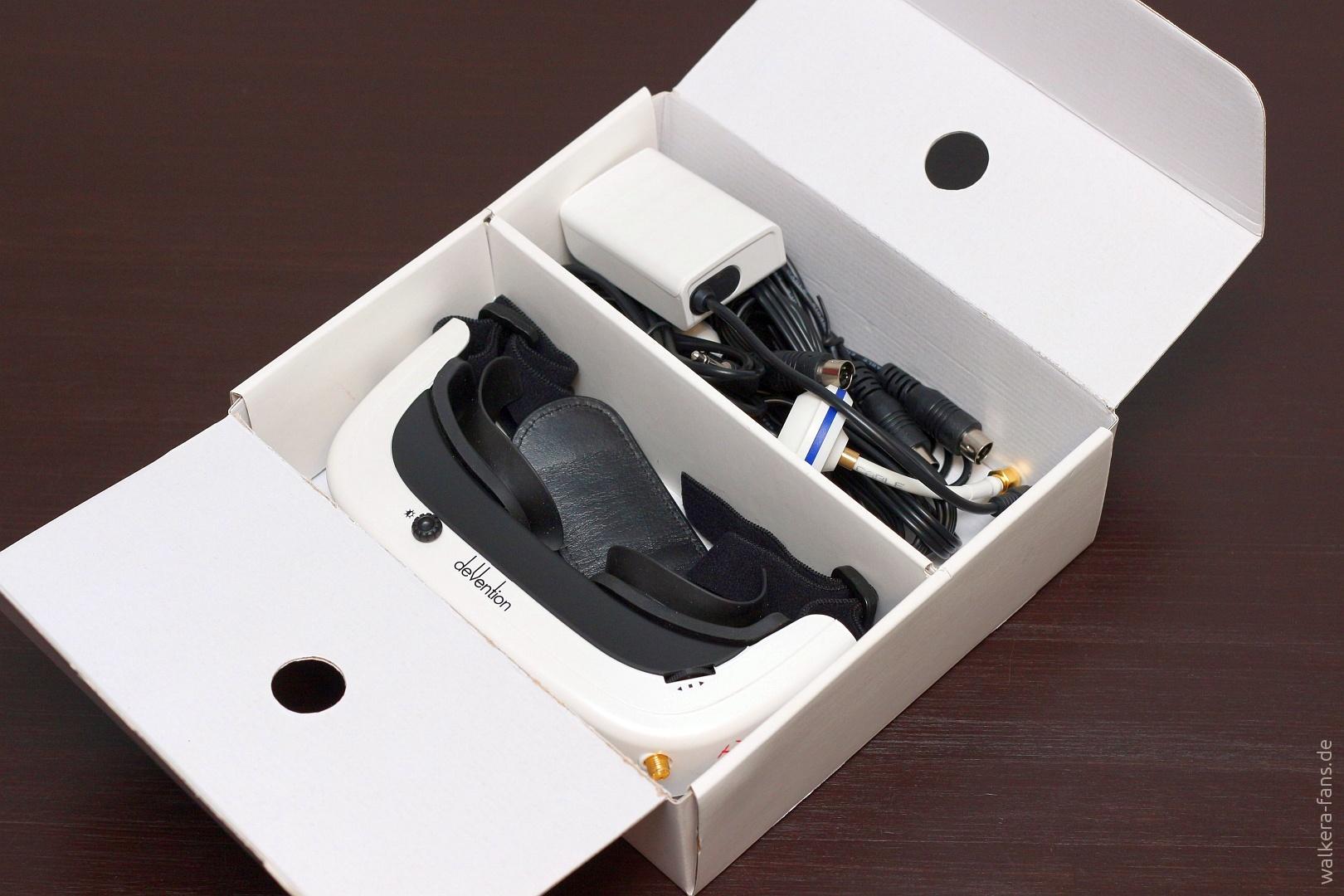 Devention Goggle 2 Berblick Und Erster Eindruck Walkera Fans Drone Voyager 3 Gps Devo F12e G 3d Gimbal Ilook With Camera Putih Auspacken Aufbauen