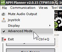 2015-01-21 10_19_20-APM Planner v2.0.15 (TPW510-G_ 169.254.40.114_192.168.178.85_169.254.36.190_169.