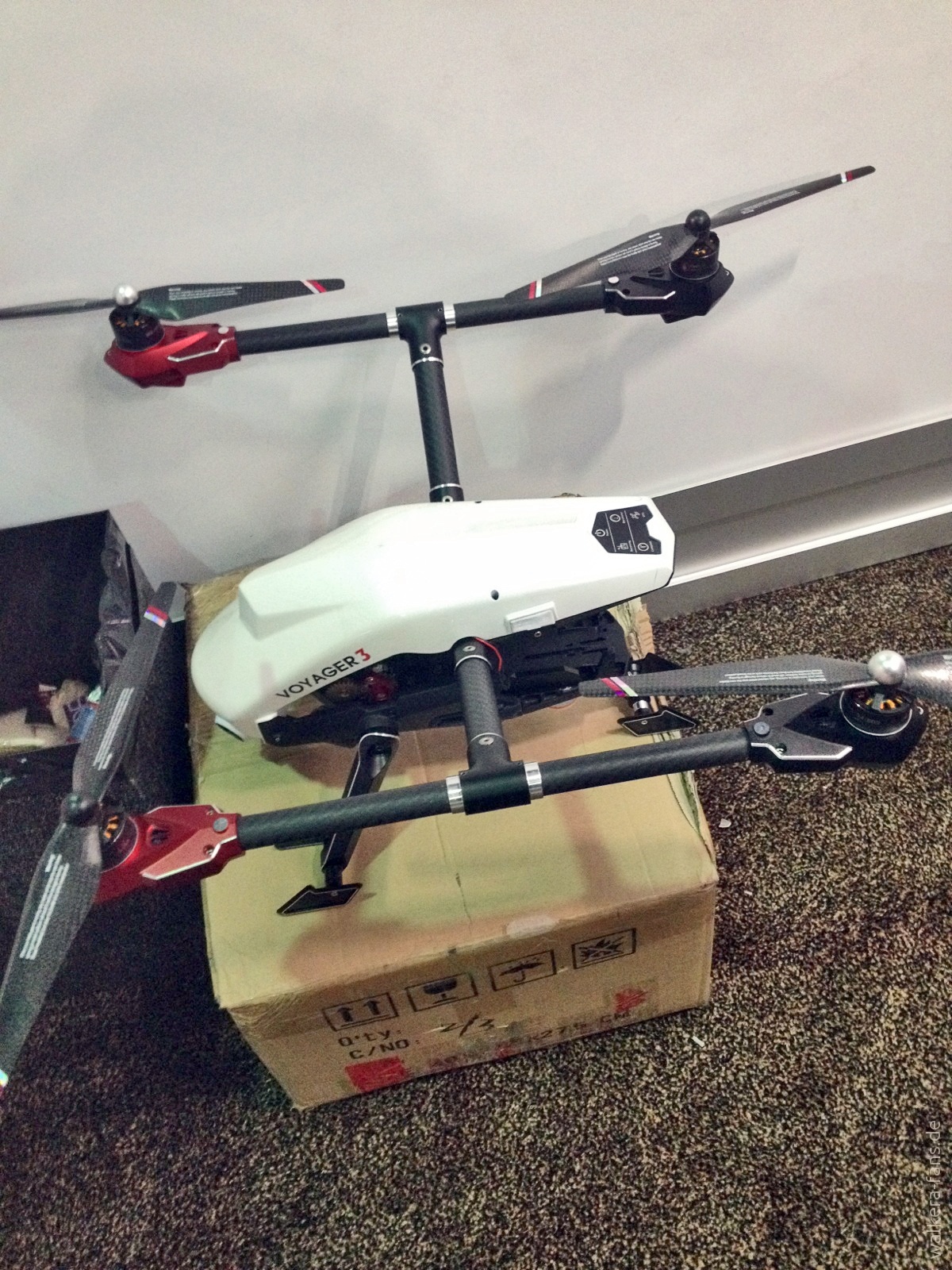 Scout H6 Mantis Voyager 3 Und Andere Walkera Modelle Auf Der Ces Drone Gps Devo F12e G 3d Gimbal Ilook With Camera Putih Prototyp Fotos