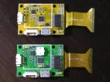 Flugsteuerungen des Runner 250 und Runner 250 Advanced Prototypen von Innen im Vergleich