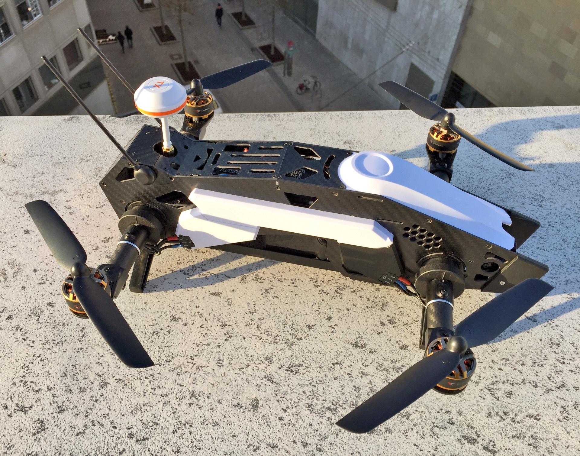 Furious 320 Gps Erster Flugeindruck Walkera Fans Drone Voyager 3 Devo F12e G 3d Gimbal Ilook With Camera Putih