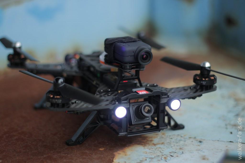 Für Flugaufzeichnungen mit Race-Koptern haben sich die Mobius-Kameras bewährt. Diese sind leicht und bieten dennoch eine ordentliche Bildqualität.
