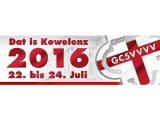 """Ankündigung: Walkerafans bei """"Dat is Kowelenz"""" am 23.07.2016"""